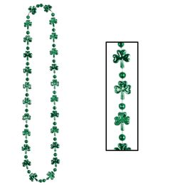 12 Units of Shamrock Beads - Party Necklaces & Bracelets