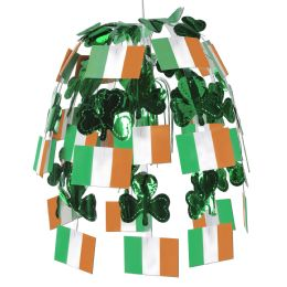 12 Units of Irish Flag Cascade combination metallic & boardstock - Party Center Pieces