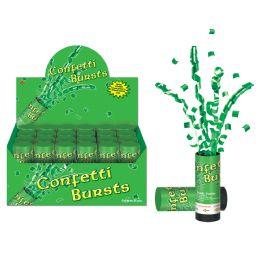 24 Units of St Patrick's Day Confetti Bursts - Streamers & Confetti