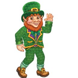 12 Units of Jointed Leprechaun - Bulk Toys & Party Favors