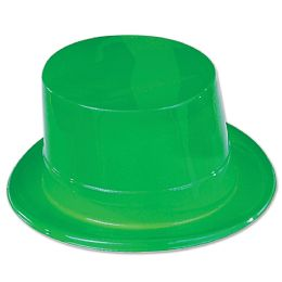 24 Units of Green Plastic Topper one size fits most - St. Patricks
