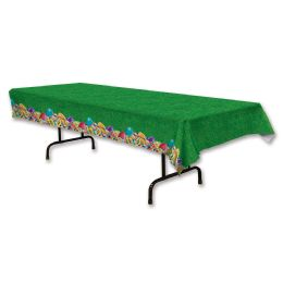 12 Units of Easter Egg Tablecover Plastic - Table Cloth