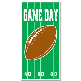 12 Units of Game Day Football Door Cover indoor & outdoor use - Photo Prop Accessories & Door Cover