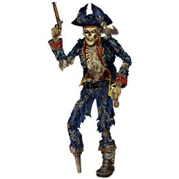 12 Units of Jointed Pirate Skeleton - Bulk Toys & Party Favors
