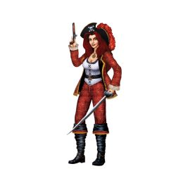 12 Units of Jointed Bonny Buccaneer - Bulk Toys & Party Favors