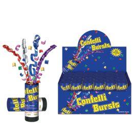 24 Units of Confetti Bursts multi-color - Streamers & Confetti