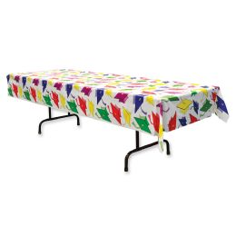 12 Units of Graduation Tablecover Plastic - Table Cloth