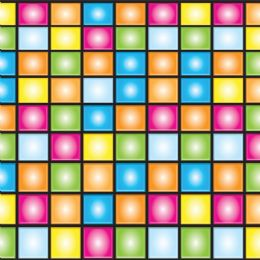 6 Units of Disco Border insta-theme - Party Novelties