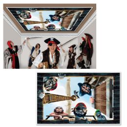 6 Units of Pirate InstA-View Creates A Scene On Your Wall - Party Novelties