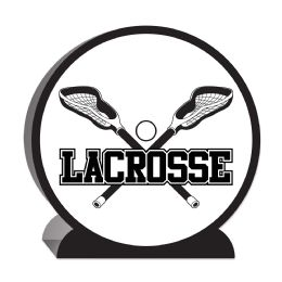 12 Units of 3-D Lacrosse Centerpiece - Party Center Pieces