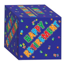 6 Units of Retirement Card Box Assembly Required - Party Novelties