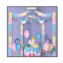 6 Units of Baby Shower Party Canopy covers approximately 20'x20' area - Baby Shower