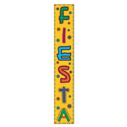 12 Units of Jointed Fiesta Pull-Down Cutout prtd 2 sides - Bulk Toys & Party Favors