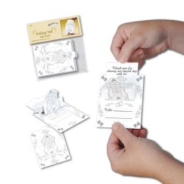 12 Units of Wishing Well Place Cards pop-up design - Hanging Decorations & Cut Out