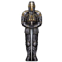 12 Units of Jointed Black Knight - Bulk Toys & Party Favors