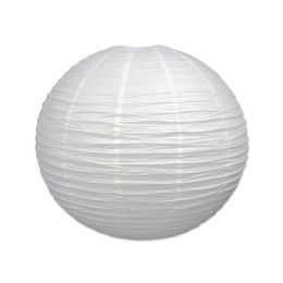 6 Units of Jumbo Paper Lantern white - Hanging Decorations & Cut Out