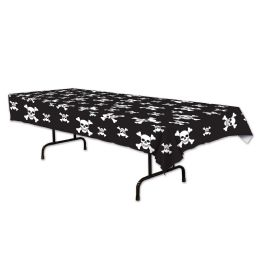 12 Units of Pirate Tablecover Plastic - Table Cloth