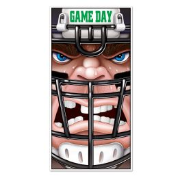 12 Units of Football Door Cover indoor & outdoor use - Photo Prop Accessories & Door Cover