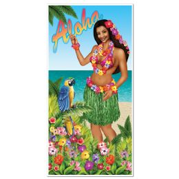 12 Units of Luau Door Cover indoor & outdoor use - Photo Prop Accessories & Door Cover