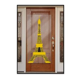 12 Units of Eiffel Tower Door Cover indoor & outdoor use - Photo Prop Accessories & Door Cover