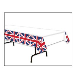 12 Units of Union Jack Tablecover Plastic - Table Cloth