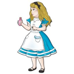 12 Units of Jointed Alice In Wonderland - Bulk Toys & Party Favors