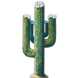 12 Units of Jointed Cactus prtd 2 sides - Bulk Toys & Party Favors