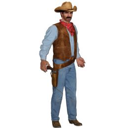 12 Units of Jointed Cowboy - Bulk Toys & Party Favors