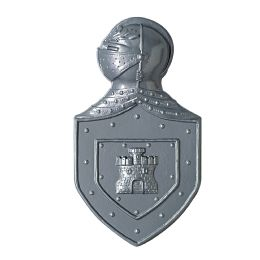 24 Units of Plastic Knight's Crest - Party Novelties
