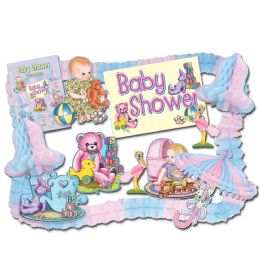 6 Units of Baby Shower Party Kit - Baby Shower