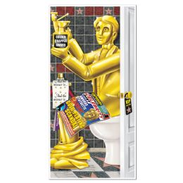 12 Units of Awards Night Restroom Door Cover indoor & outdoor use - Photo Prop Accessories & Door Cover