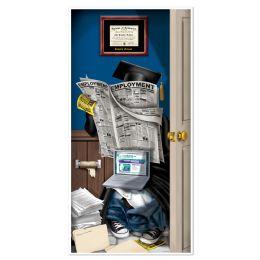 12 Units of Graduate Restroom Door Cover indoor & outdoor use - Photo Prop Accessories & Door Cover