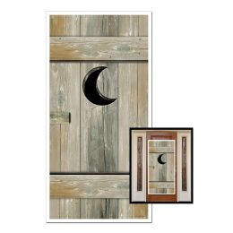 12 Units of Outhouse Door Cover indoor & outdoor use - Photo Prop Accessories & Door Cover