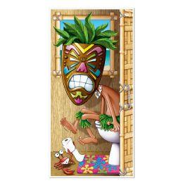 12 Units of Tiki Man Restroom Door Cover indoor & outdoor use - Photo Prop Accessories & Door Cover