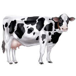 12 Units of Jointed Cow - Bulk Toys & Party Favors