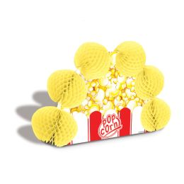 12 Units of Popcorn Pop-Over Centerpiece - Party Center Pieces
