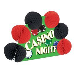 12 Units of Casino Pop-Over Centerpiece - Party Center Pieces