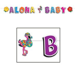12 Units of Hula Baby Streamer - Streamers & Confetti