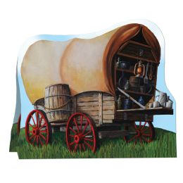 12 Units of 3-D Chuck Wagon Centerpiece - Party Center Pieces