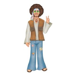 12 Units of Jointed Male Hippie - Bulk Toys & Party Favors