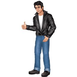 12 Units of Jointed Greaser - Bulk Toys & Party Favors