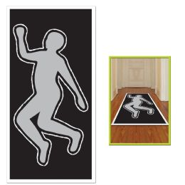 12 Units of PSI Body Silhouette - Hanging Decorations & Cut Out