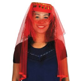 12 Units of Arabian Dancer Hat one size fits most; no retail packaging - Party Hats & Tiara