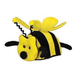 12 Units of Plush Bee Hat One Size Fits Most - Party Hats & Tiara