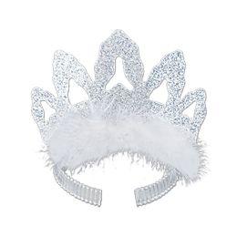 72 Units of Coronet Tiara silver - Party Hats & Tiara