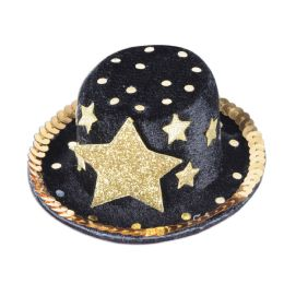 12 Units of Top Hat Hair Clip - Party Novelties
