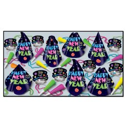Neon Midnight Asst for 50 - Party Accessory Sets