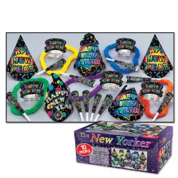 New Yorker Asst for 10 NO RETAIL PRICE ON CARTON - Party Accessory Sets