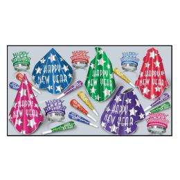 Midnight Star Asst For 10 No Retail Price On Carton - Party Accessory Sets