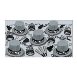 Simply Silver Asst for 10 NO RETAIL PRICE ON CARTON - Party Accessory Sets